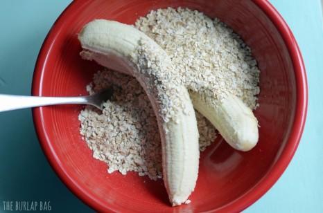 banana and oats